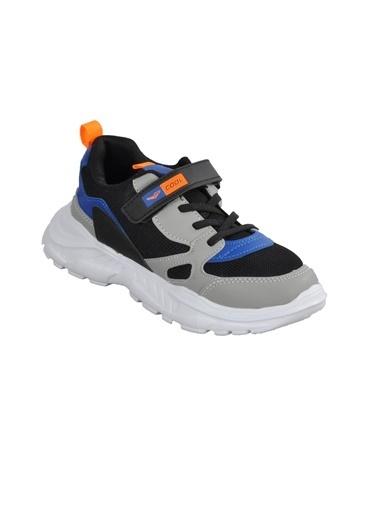 Cool 20-S06 Beyaz-Yeşil-Siyah Çocuk Spor Ayakkabı Saks